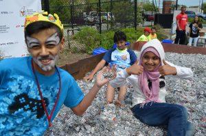 Kids at Pull Tab Palooza
