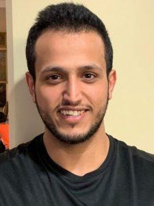 Mohammed Alarjani, Front Desk Volunteer portrait